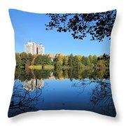 Autumn By The Lake 6 Throw Pillow