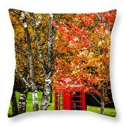 Autumn Call Throw Pillow