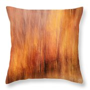 Autumn Canvas Throw Pillow