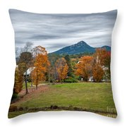 Autumn Chocorua Throw Pillow