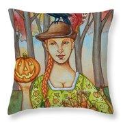 Autumn Colonial Throw Pillow
