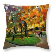Autumn Colors - Lugano Throw Pillow