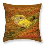 Autumn Crest Throw Pillow