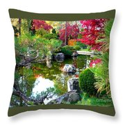 Autumn Dream Throw Pillow by Carol Groenen