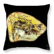 Autumn Dryad Under The Colored Oak Throw Pillow