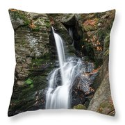 Autumn Fall Throw Pillow by Bill Wakeley