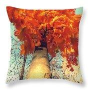 Autumn Fantasy 1 Throw Pillow