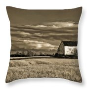 Autumn Farm II Throw Pillow