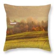 Autumn Fields Throw Pillow