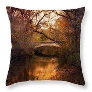 Autumn Finale Throw Pillow