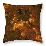 Autumn Foliage Throw Pillow