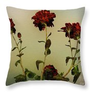 Autumn Fresco Throw Pillow