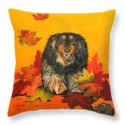 Autumn Fun Throw Pillow