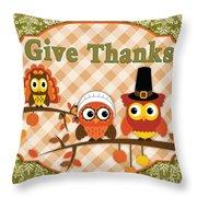 Autumn Gifts-c Throw Pillow