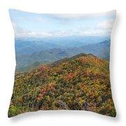 Autumn Great Smoky Mountains Throw Pillow