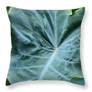 Autumn Green Throw Pillow