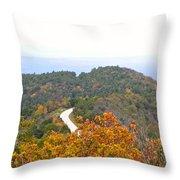 Autumn Horizon Throw Pillow