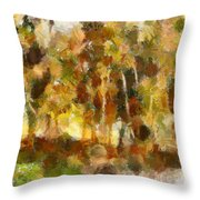 Autumn Impression 1 Throw Pillow