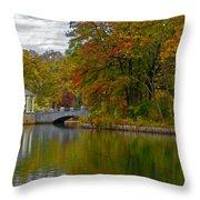 Autumn In Atlanta Throw Pillow