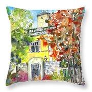 Autumn In Bergamo 02 Throw Pillow