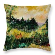 Autumn In Bois Jacques  Throw Pillow