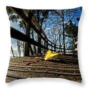 Autumn In Lyme Regis 2 Throw Pillow