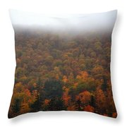 Autumn In New Hampshire Throw Pillow