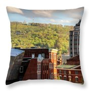 Autumn In Roanoke Throw Pillow