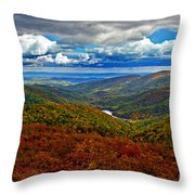Autumn In Shenandoah Park Throw Pillow