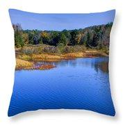 Autumn In The Adirondacks II Throw Pillow