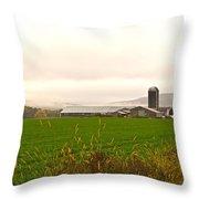Autumn In The Butternut Valley-seven Throw Pillow