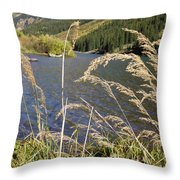 Autumn In The Maroon Bells Throw Pillow