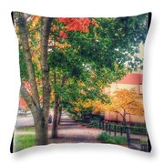 Autumn In Vancouver Washington Throw Pillow