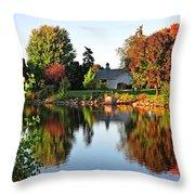 Autumn In Wisconsin Throw Pillow