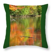 Autumn Jewel Throw Pillow