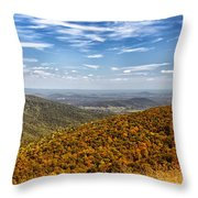 Autumn Layers Throw Pillow