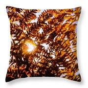 Autumn Leafs Throw Pillow