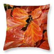 Autumn Leaves 80 Throw Pillow
