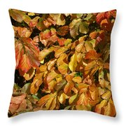 Autumn Leaves 83 Throw Pillow
