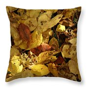 Autumn Leaves 94 Throw Pillow
