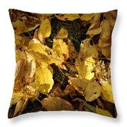 Autumn Leaves 95 Throw Pillow