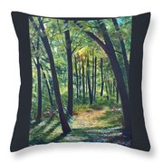Autumn Meditation Throw Pillow