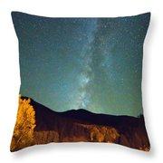 Autumn Milky Way Throw Pillow