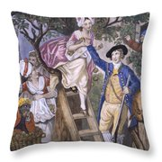 Autumn, Negro Servant, C.1780 Throw Pillow