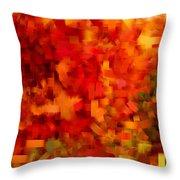 Autumn On My Mind Throw Pillow