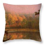 Autumn Paper Throw Pillow