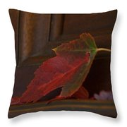 Autumn Piano 5 Throw Pillow
