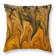 Autumn Pixies Throw Pillow