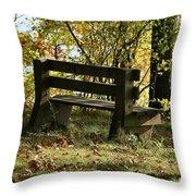 Autumn Pleasures Throw Pillow