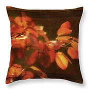 Autumn Promise Throw Pillow